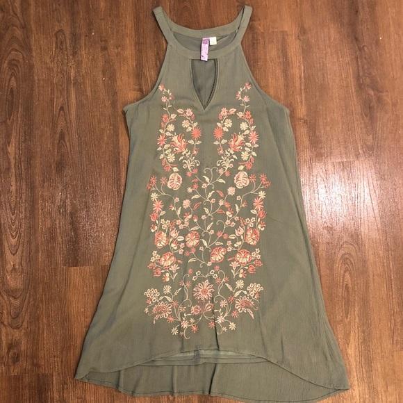 Francesca's Collections Dresses & Skirts - Sage Green Dress